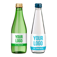 Branded Still water, Glass bottle 330 ml with full colour label, 540 bottles, Only £ 0.59 per bottle  - water-330ml-glass-still[1].png